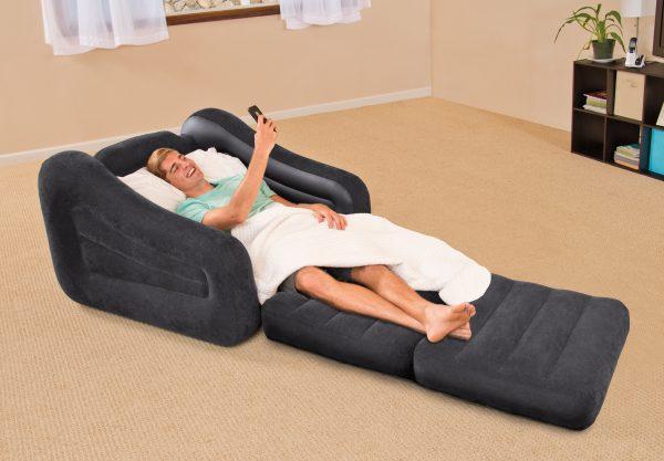 کاناپه بادی یک نفره تخت شو اینتکس