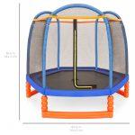 ترامپولین 2.1 متری (7فوت) مهد کودکی و آپارتمانی